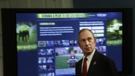 New York Mayor Michael Bloomberg and dozens of shooting survivors and victims' relatives are calling on Congress and President Barack Obama to tighten gun laws and enforcement, December 17, 2012.