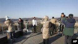 지난 연말 한국을 방문한 중국 관광객들 (자료사진)