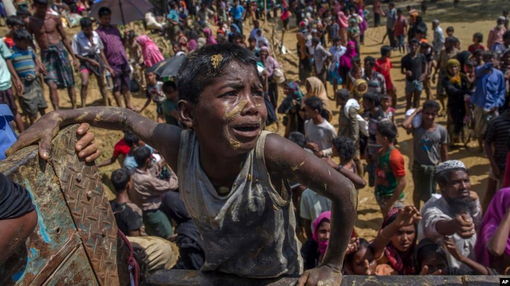 """Résultat de recherche d'images pour """"Rohingyas, crisis, Myanmar, 2017"""""""