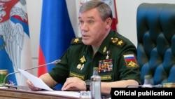 Начальник Генштаба российских вооруженных сил генерал армии Валерий Герасимов (архивное фото)