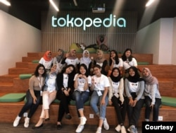 Field trip ke Tokopedia. (Foto: Generation Girl)