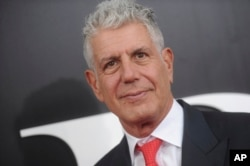 "Anthony Bourdain at the premiere of ""The Big Short."""