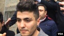Yanvarın 9-da polis tərəfindən saxlandıqdan sonra Mehman Hüseynov ona işgəncə verildiyini iddia etmişdi.