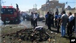伊拉克基爾庫克早前也受到襲擊。