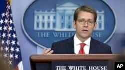 제이 카니 미 백악관 대변인. (자료사진)