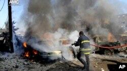 Бої в сирійському місті Алеппо