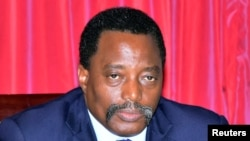 Le président Joseph Kabila de la RDC, 3 avril 2017.