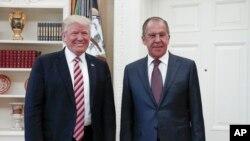 Tổng thống Trump gặp Ngoại trưởng Nga Lavrov tại Tòa Bạch Ốc,10/5/2017