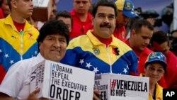 Morales se ha mantenido cercano al gobierno de Venezuela tras la muerte de Chávez.