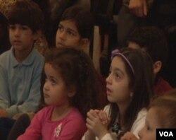 در جشن نوروزی موزه «فریر و سکلر» برنامه های سرگرم کننده ای برای کودکان بود