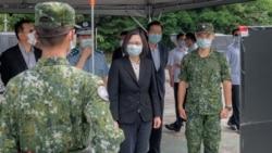 蔡英文視察導彈防空部隊 宣示台灣捍衛自由民主決心