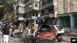 عکس آرشیف - افزایش در تعداد تلفات انفجار جلال آباد