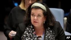 Presidente do Conselho, Karen Pierce, pede entendimento entre Vaz e Gomes