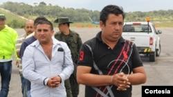 """La estructura, liderada por alias """"Doble Cero"""", competía con el ex guerrillero del EPL """"Megateo"""" por el control de las rutas en la zona de frontera entre Colombia y Venezuela. [Foto: Policía Colombia]"""