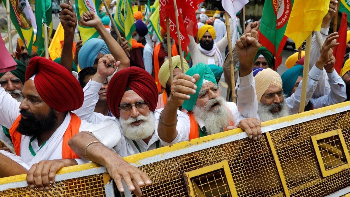 Protes UU Pertanian, Petani India Mulai Aksi Duduk di Dekat Parlemen