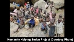 Anak-anak Sudan Selatan di kamp pengungsi (foto: ilustrasi).