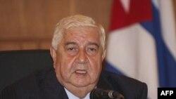 Ngoại trưởng Syria Walid Moallem đã thảo luận về đề nghị của Liên đoàn Ả Rập trong cuộc họp với Thủ tướng Qatar tại Doha