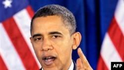 Tổng thống Obama nói ông muốn chính phủ thực hiện các biện pháp để khuyến khích tạo công ăn việc làm và tăng trưởng kinh tế