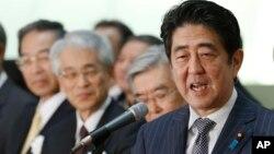 Shinzo Abe, primeiro-ministro nipónico