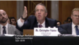 美国国务院官员佩恩特出席参议院有关网络安全战略的听证会。(图片来源:美国参议院)