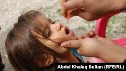 Вакцинація від поліомієліту