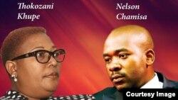 Nelson Chamisa and Thokozani Khuphe