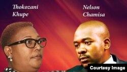 Muzvare Thokozani Khupe naVaNelson Chamisa