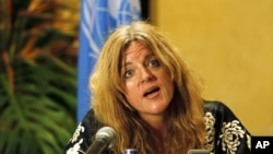 United Nations Mission in the Republic of South Sudan (UNMISS) Special Representative to Secretary-General (SRSG) Hilde Johnson, March 6, 2012.