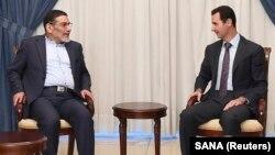 بشار اسد بطور متناوب با مقام های ارشد ایران در دمشق دیدار دارد.