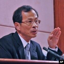 香港立法會主席曾鈺成
