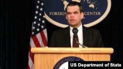U.S ambassador to Zimbabwe Bruce Wharton