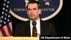 US Ambassador to Zimbabwe Bruce Wharton.