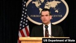 U.S. ambassador to Zimbabwe Bruce Wharton