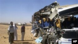 مصربس حادثے میں 8امریکی سیاح ہلاک