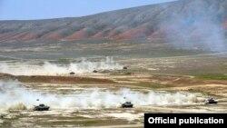 Azərbaycan və Türkiyə hərbçiləri birgə hərbi təlim keçirir