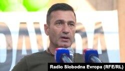 Davor Dragičević, otac ubijenog 21-godišnjeg Davida Dragičevića na protestima u Banja Luci, 7. juli 2018.