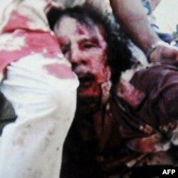 Muammer Kaddafi Öldü