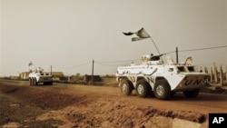 Pasukan penjaga perdamaian PBB (UNMIS) di Sudan selatan (foto: dok). Sudan Selatan masih terus bergejolak oleh serangan pemberontak di sana.