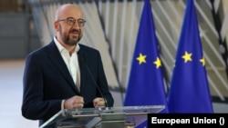 Шарль Мішель, президент Європейської ради. Брюссель. 5 березня 2021 р.