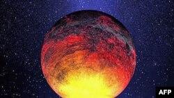 Một trong các hành tinh nhỏ nhất mà Kepler đã tìm thấy, to gấp 1,4 lần kích thước của Trái đất và có nhiệt độ hơn 2.500 độ F (tức hơn 1.371 độ C), tháng 1/2011