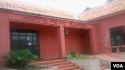 L'hôpital de Saurimo en Angola