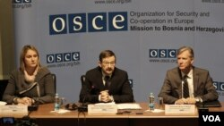 Željka Šulc, Thomas Greminger, Bruce G. Berton, OSCE