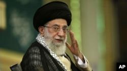 အီရန္ေခါင္းေဆာင္ႀကီး Ayatollah Ali Khamenei
