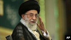 伊朗最高領袖哈梅內伊(2014年9月7日資料照片)