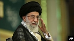 Pemimpin Tertinggi Iran Ayatollah Ali Khamenei (Foto: dok/AP Photo/Office of the Supreme Leader)