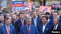 برطانیہ کے یورپی یونین سے علیحدگی کے حامی کامیاب