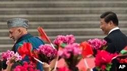تلاش ها برای شامل ساختن چین در روند صلح افغانستان در زمان زمامداری حامد کرزی آغاز شد.