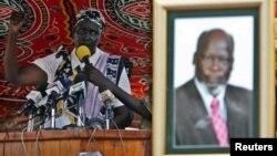 Rebecca Nyandeng, janda pahlawan pembebasan Sudan Selatan, John Garang (foto: dok).