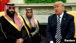 صدر ټرمپ او سعودي ولې عهد محمد بن سلمان