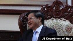 Thủ Tướng Lào Thongloun Sisoulith.